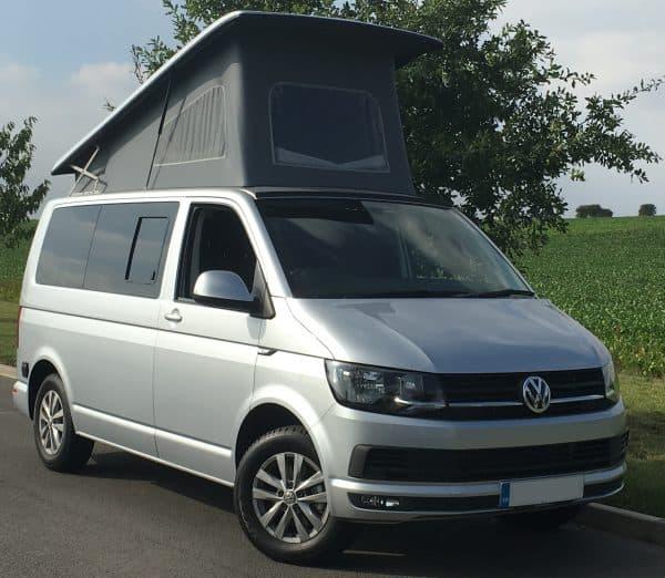 Campervan roadside