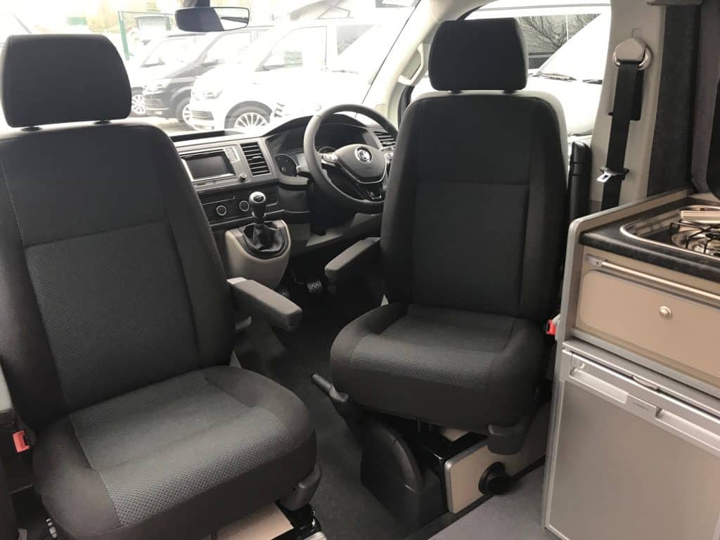 Campervan swivel chairs